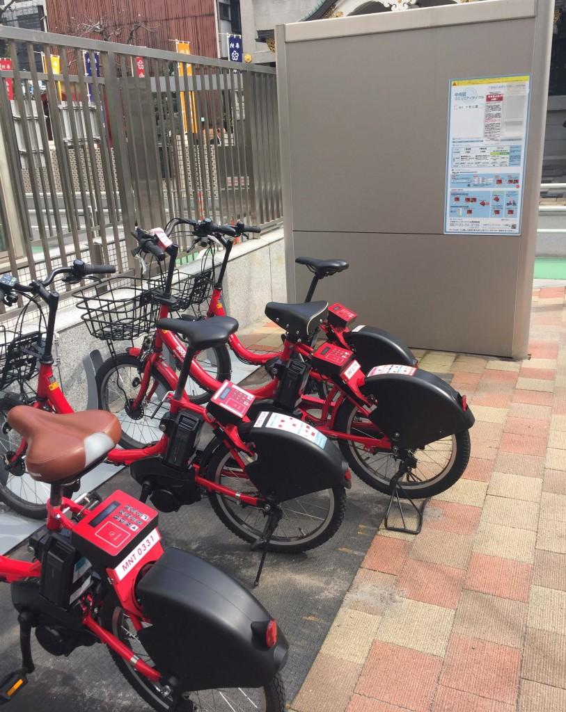 十思公園自転車ポート
