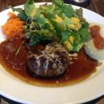 小伝馬町『北出食堂』でおしゃれなハンバーグ定食|フリーランスのランチ