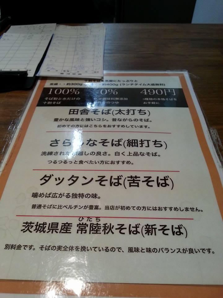 東京バッソ ソバ