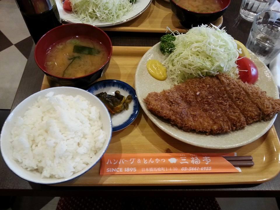 三福亭_とんかつ定食