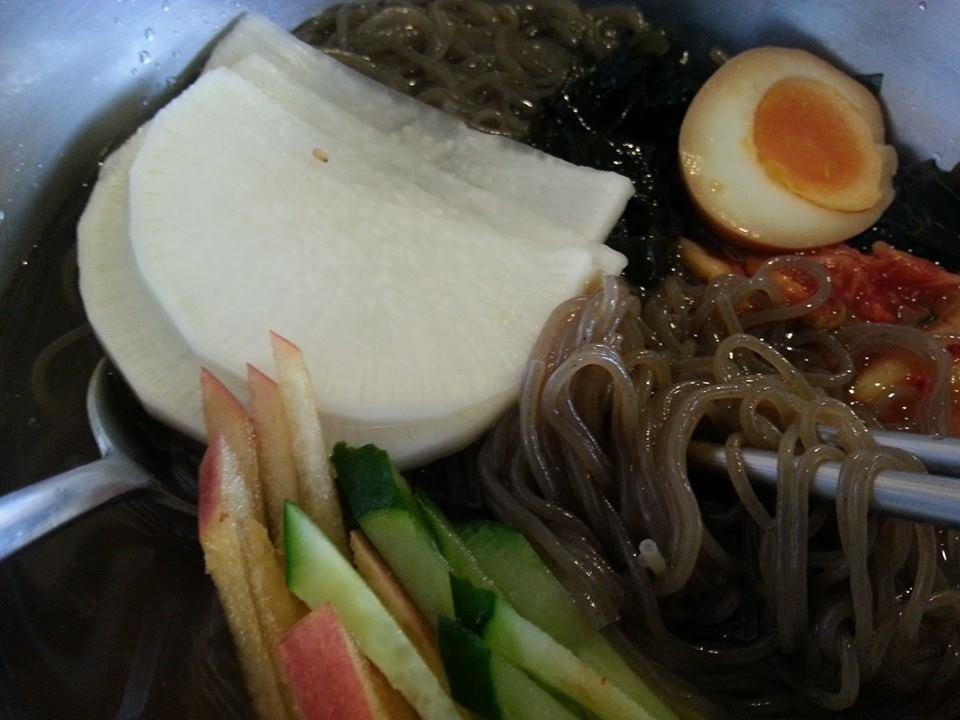 豚大門市場_冷麺