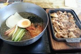豚大門市場_ユクサム冷麺