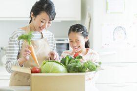 健康保険に加入して健康的な生活を送る親子
