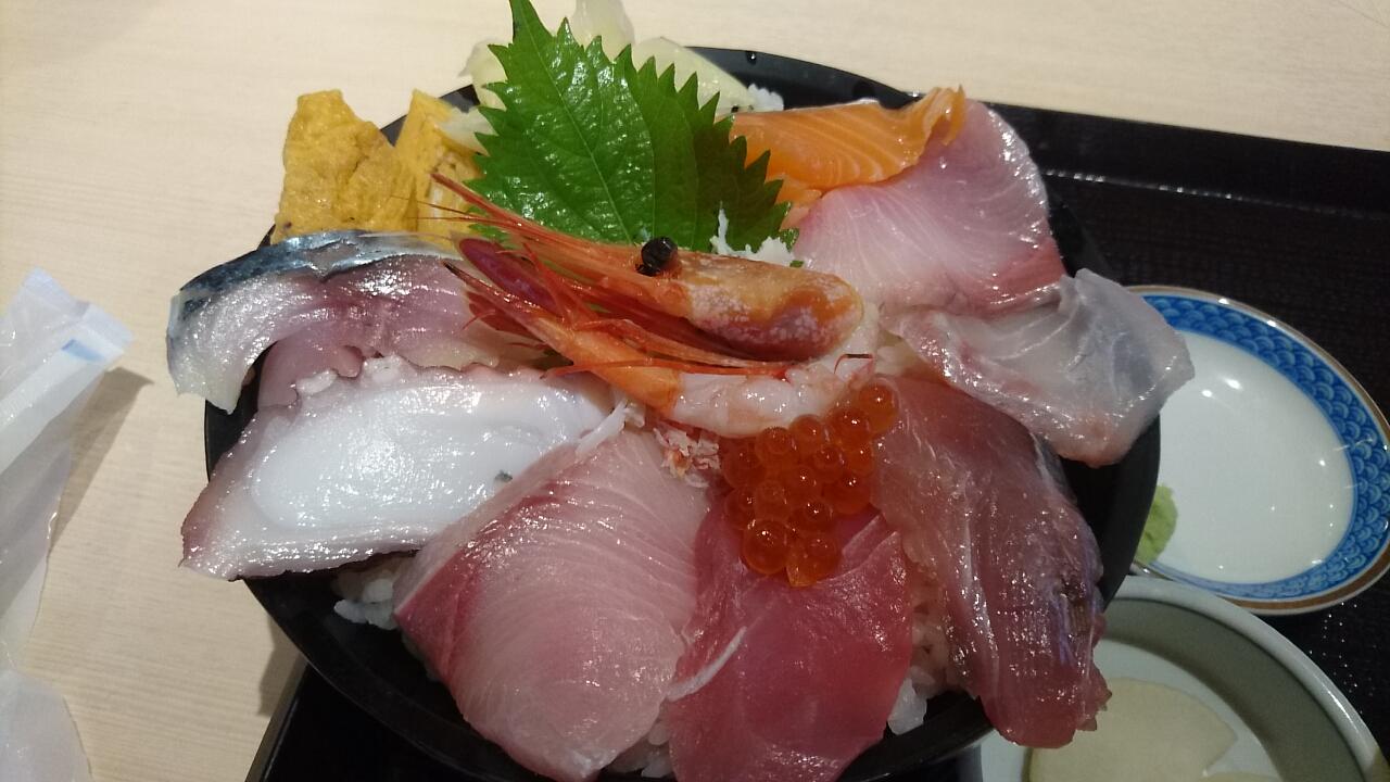 海鮮丼メイン