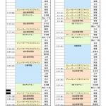 2017年度一級建築士定期講習開催日│東京都[2018年1月〜3月](1/2)