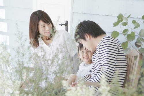 転職して家庭の時間が取れる人のイメージ
